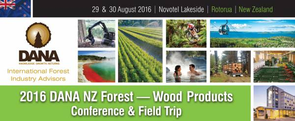 Cover image 2016 DANA Wood Products  - Forest Conference and Field Trip