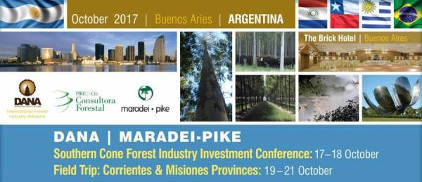 Cover image DANA / Maradei-Pike Southern Cone Forest Industry Investment Conference and Field Trip