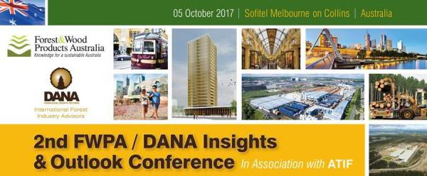 Cover image 2017 FWPA / DANA Insights and Outlook Conference
