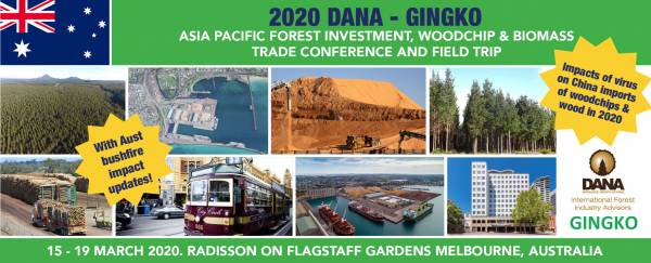 Cover image Asia Pacific Woodchip And Biomass Trade Conference And Field Trips