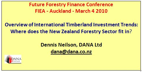 Cover image Future Forestry Finance Conference - FIEA -