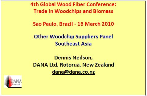 Cover image 4th Global Wood Fiber Conference: Trade in Woodchips and Biomass