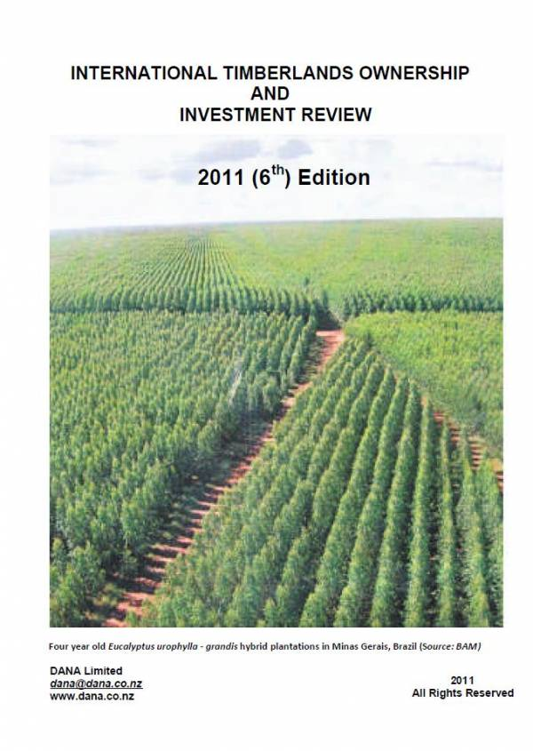 Cover image 2011 International Timberlands Ownership and Investment Review
