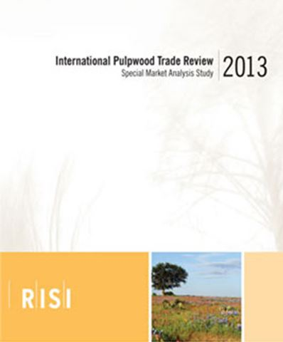 Cover image RISI Multi Client Study - 2013 International Pulpwood Trade Review
