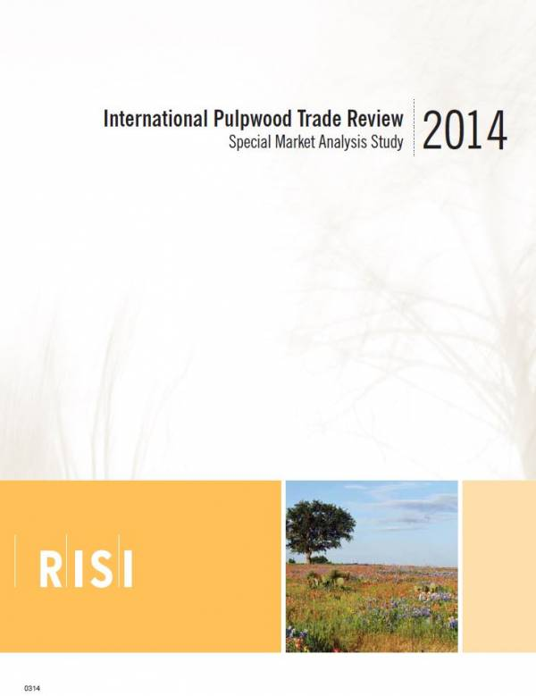 Cover image RISI Multi Client Study - 2014 International Pulpwood Trade Review