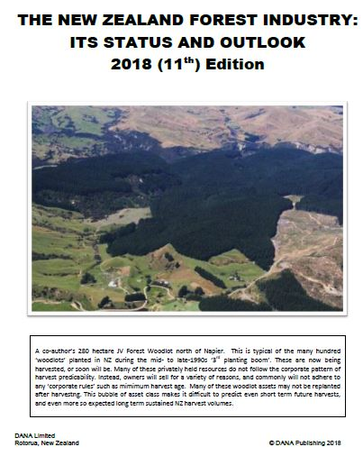 Cover image 2018 New Zealand Forest Products Industry Review